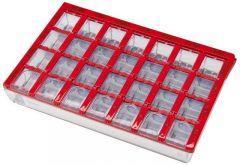 Dosett Medi Ruotsi 155x102x25 Punainen 1 kpl