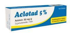 ACLOTAD 5 % emuls voide 2 g