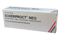 SCHERIPROCT NEO 1,5/5 mg/g rektaalivoide 30 g
